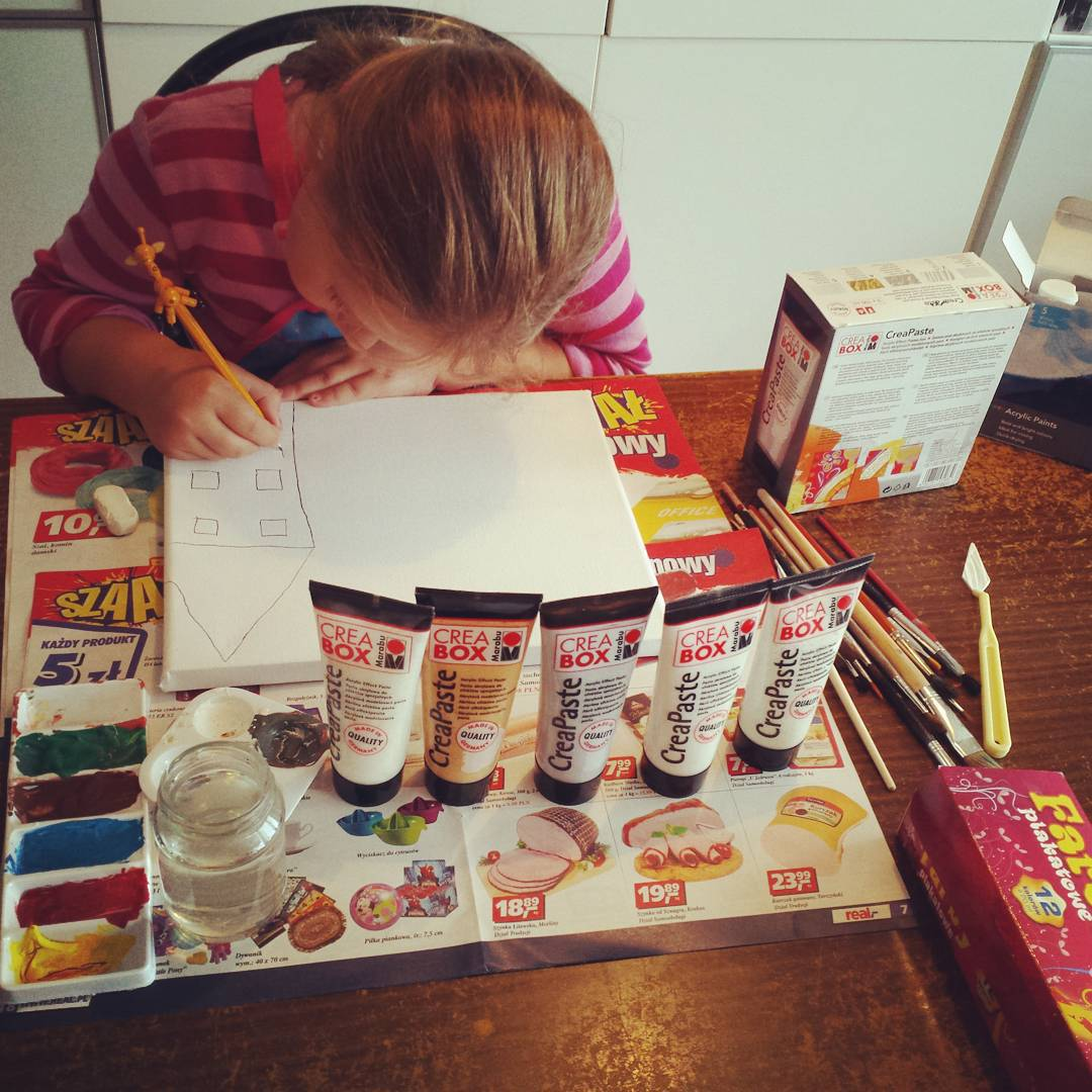 Stanowisko gotowe bdzie artystycznie  creative dzieciaki mamafit rodzinka zabawyzdzieckiem