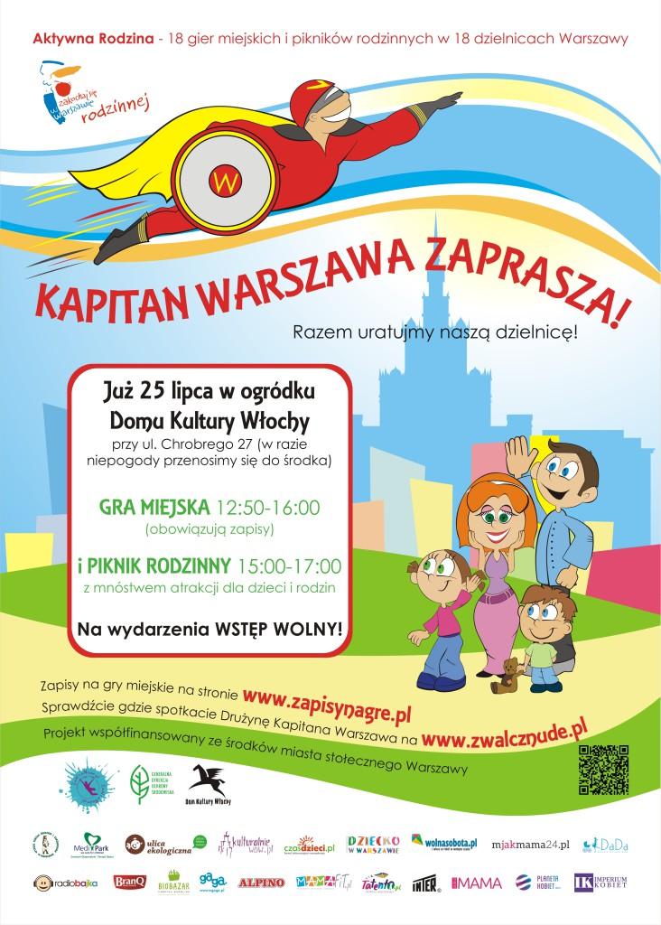 Kapitan Warszawa Włochy