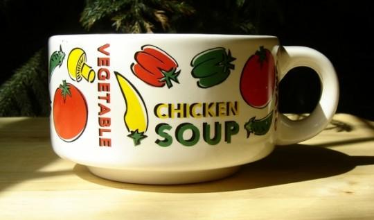Zupa jarzynowa z makaronem
