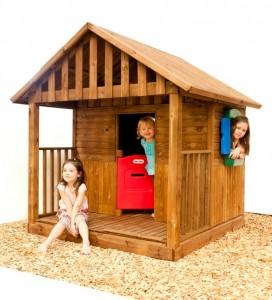 Domek drewniany - Ogrodosfera