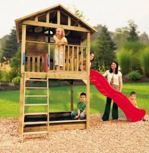 Jaki domek ogrodowy dla dzieci wybra - Casetas de madera infantiles ...