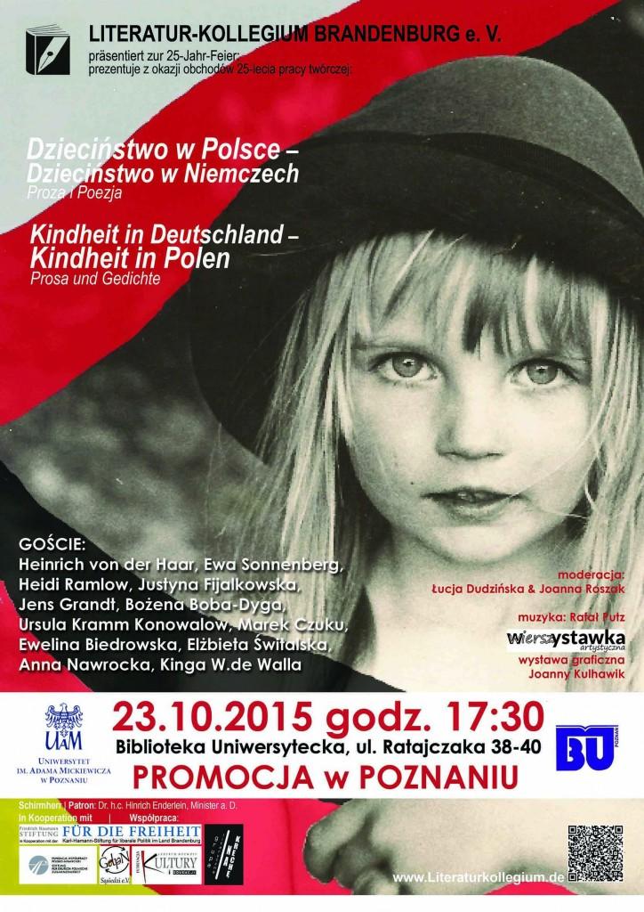 Zaproszenie na spotkanie Antologia Polsko Niemiecka