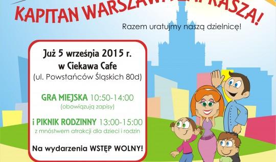 Gra miejska z Kapitanem Warszawa na Bemowie