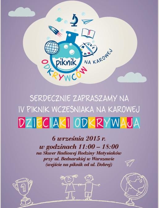 Piknik Wcześniaka w Warszawie