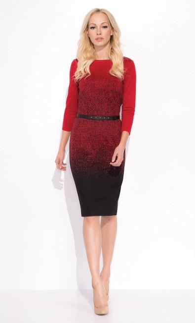 Czerwona sukienka Brittany