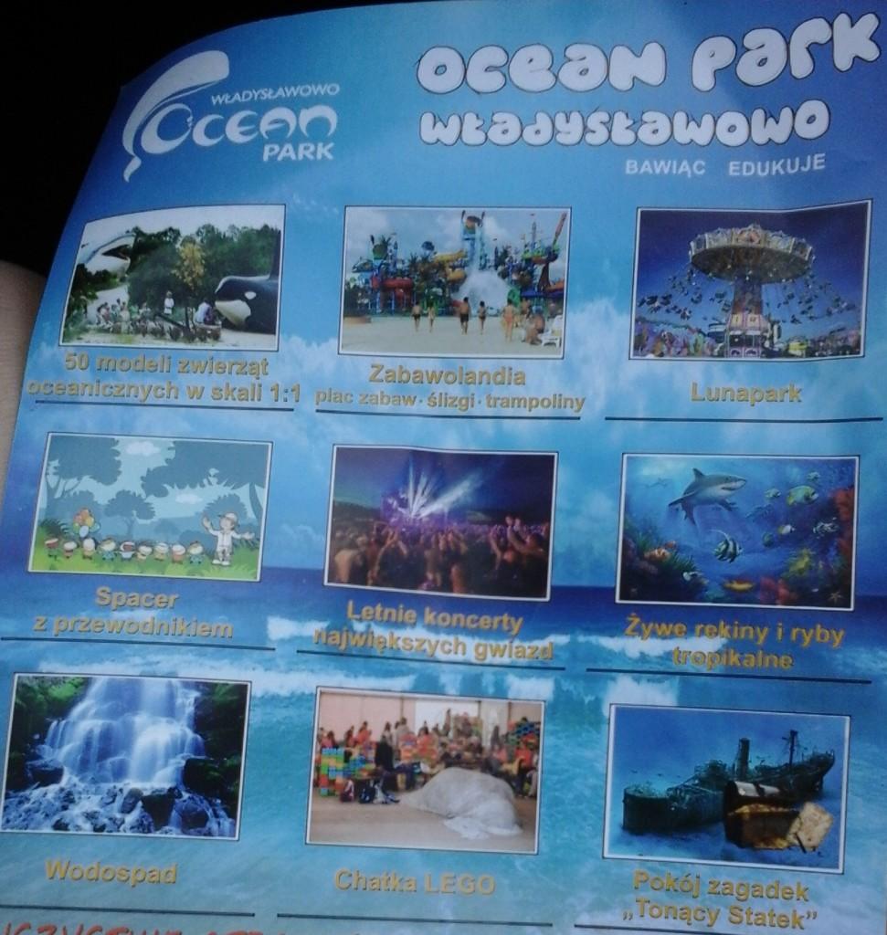 Ocean Park ulotka