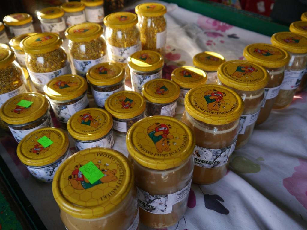 miód, pyłek pszczeli, Zielony Targ