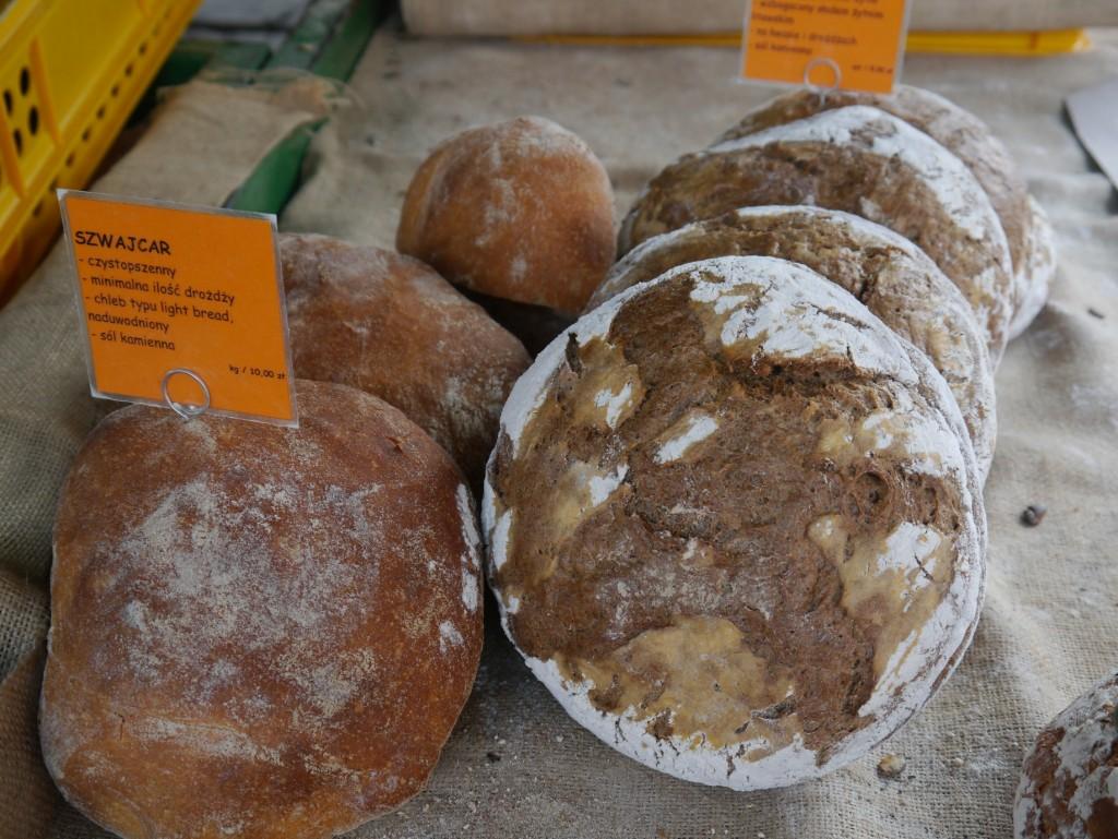 ekologiczne pieczywo, chleb na zakwasie, Poznański Zielony Targ