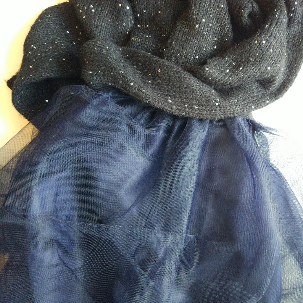 Spódnica z tiulu