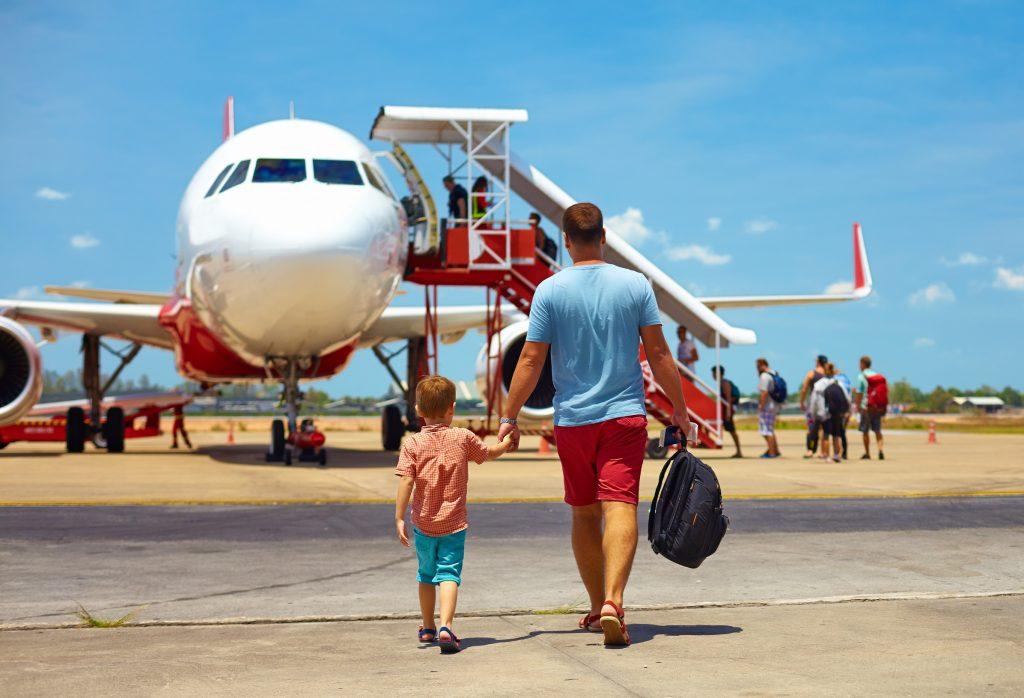 Podróż samolotem z dzieckiem
