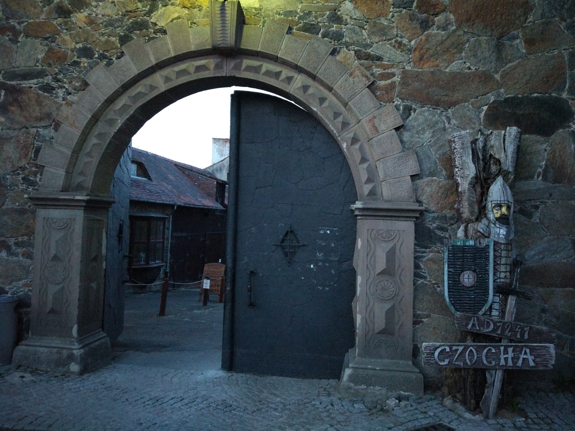 Brama Zamku Czocha