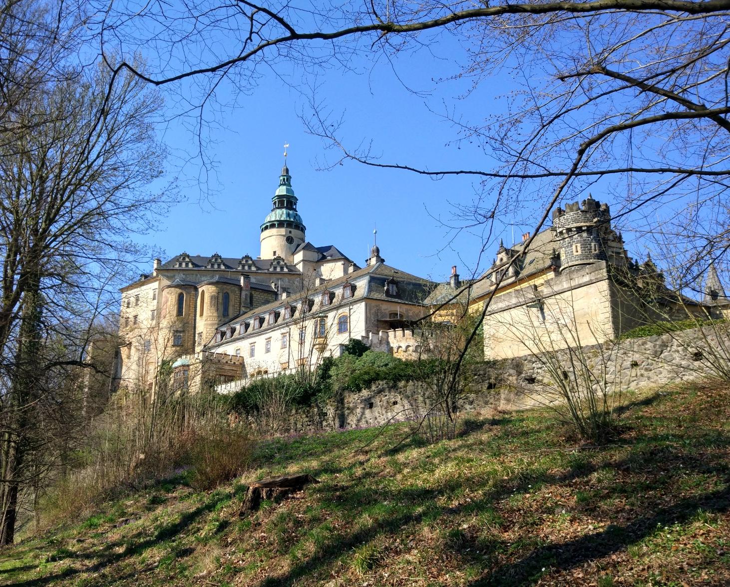 Zamek Fryndland Czechy