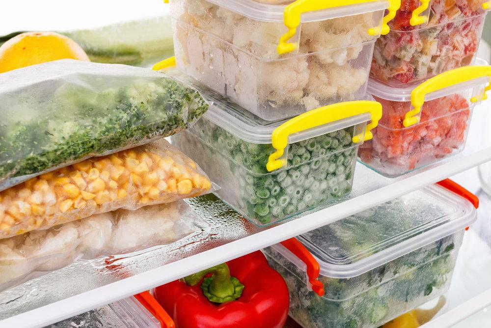 Przechowywanie żywności w kuchni