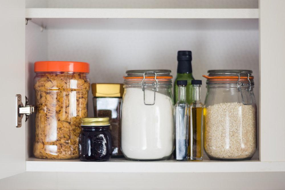 Przechowywanie suchej żywności