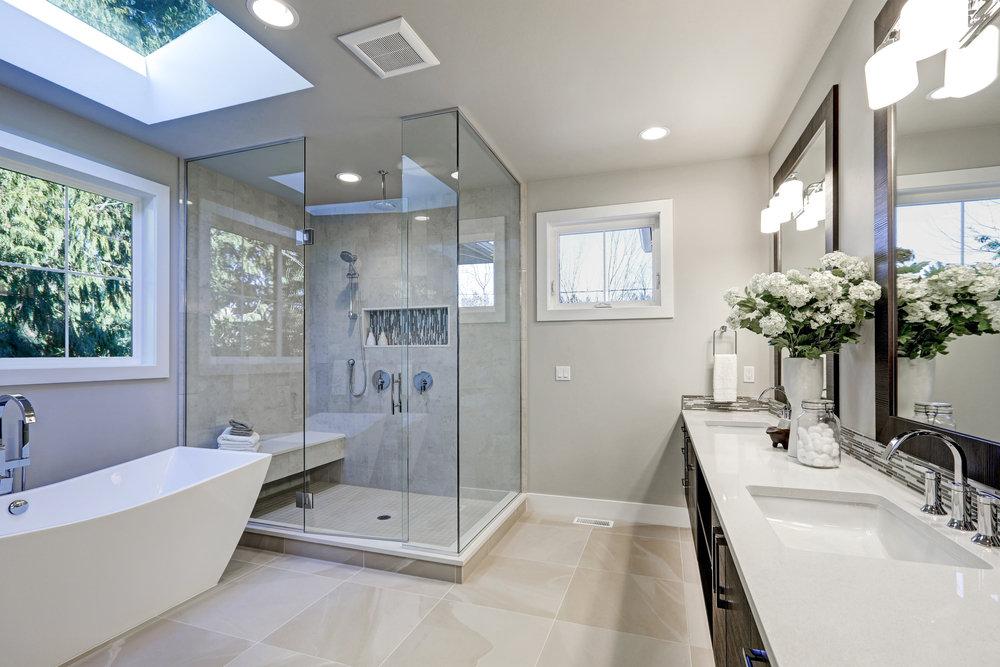 Minimalizm w nowoczesnej łazience