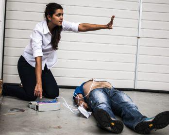 Defibrylator AED