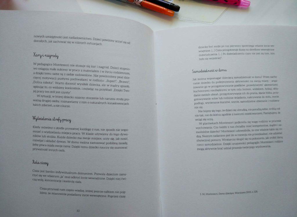Montessori dla każdego, Podstawowe założenia systemu montessoriańskiego